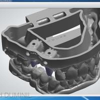 Fig.6 - Un module du logiciel de CAO permet la conception du modèle