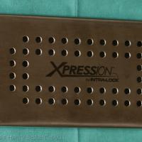 Fig3 : Couvercle de la box exerçant une pression sur le pressoir
