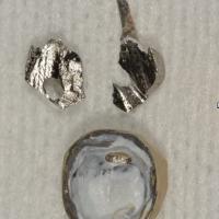 Exemple d'un cas ou les vibrations du fraisage lors de la séparation de l'ancrage suffisent parfois au descellement du tenon