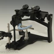 montage en articulateur du moulage maxillaire