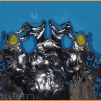Fig 11 : Mise en place des maquettes de glissières