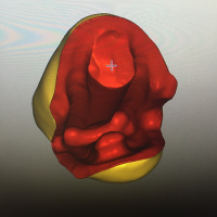 Vue de l'élément 13 en 3D avant usinage