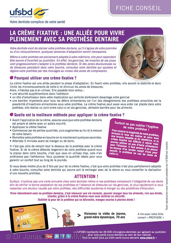Adhésifs en prothèse amovible   contribution aux règles de bon usage ... f82179bbe96