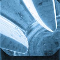 Engrenage d'un contre-angle après maintenance par l'automate Assistana