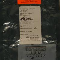 Sachet de protection du guide chirurgical réalisé par stéréo-lithographie