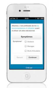 Photo appli smartphone
